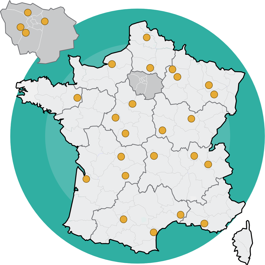 Nos offres en France